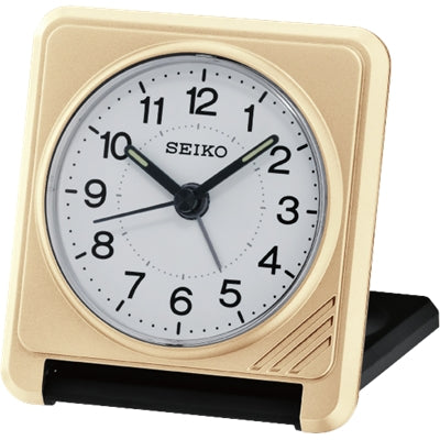 Seiko Travel Alarm Clock QHT015G
