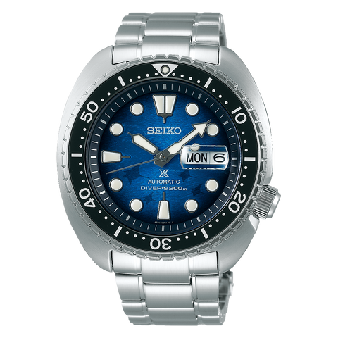 Seiko Mens Prospex Save The Ocean Divers Watch - SRPE39k1