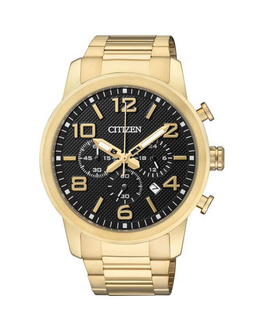 Citizen Mens Chrono Gold Plated AN8052-55E