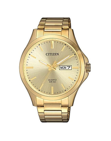 Citizen Mens Gold Plated BF2003-84P