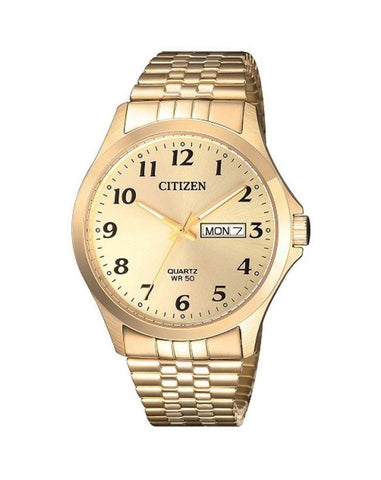 Citizen Mens Gold Plated BF5002-99P Expansion Strap