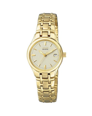 Citizen Ladies Gold Watch - EW1262-55P