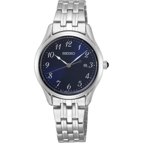 Seiko Ladies Classic Full Figure 50m Watch - SUR641P