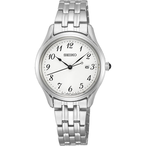 Seiko Ladies Classic Full Figure 50m Watch - SUR643P1