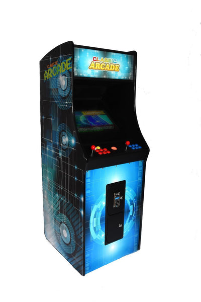 FULL-SIZED UPRIGHT ARCADE GAME 3015 CLASSIC GAMES