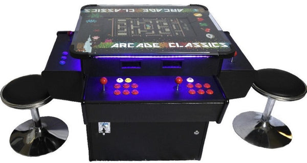 Classic Cocktail Arcade Game 3-sided 1162 games
