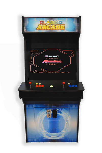 FULL-SIZED UPRIGHT ARCADE GAME 3015 CLASSIC GAMES-2 player upright