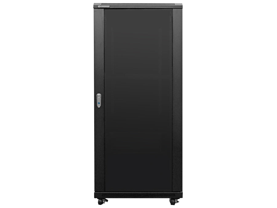 Linkbasic 27U 1M Deep Cabinet 4 Fans & 2 Shelves