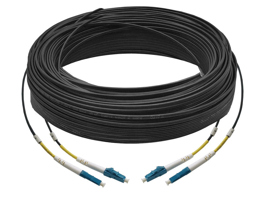 Scoop Fibre Outdoor Uplink Cable 60M LC-LC UPC 2Core