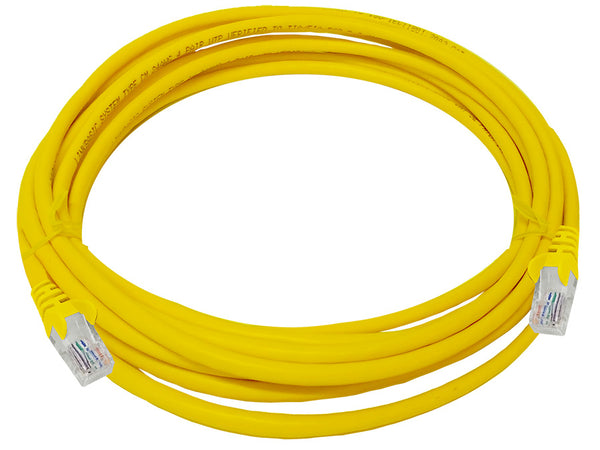 Linkbasic 5 Meter UTP Cat5e Patch Cable Yellow