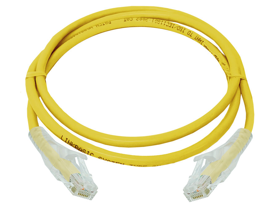 Linkbasic 1 Meter UTP Cat6 Patch Cable Yellow