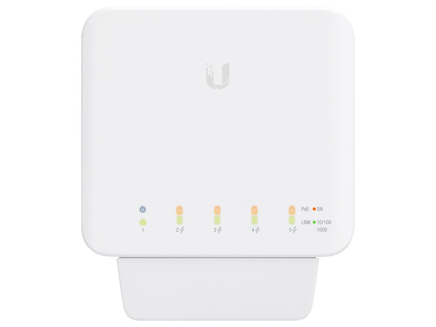 Ubiquiti 5 Port Gigabit 1PoE In 4PoE Out UniFi Flex Switch | USW-FLEX