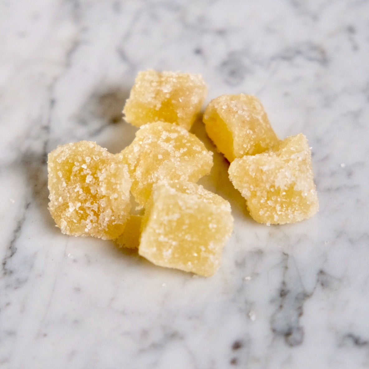 Crystallized Ginger Cubes, Organic