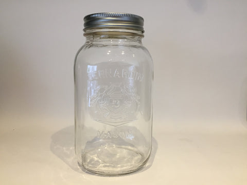 Mason Jar, Regular Mouth, 1L