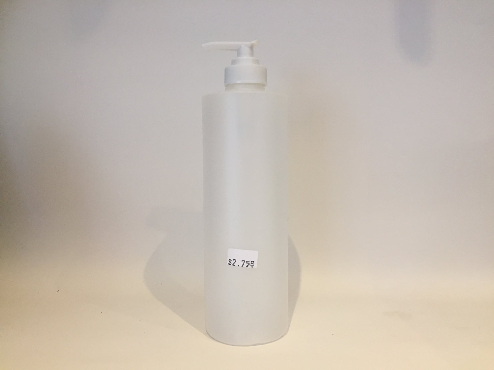 Plastic Cloudy Pump Bottle, 500ml