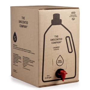 The Unscented Company Laundry Soap 10L Refill Box