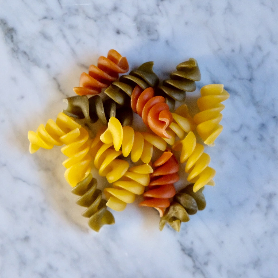 Tricolour Vegetable Rotini