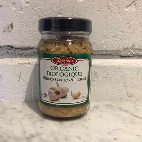 Derlea Organic Minced Garlic