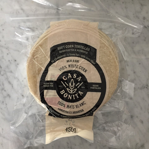 Casa Bonita 100% Soft Corn Tortillas