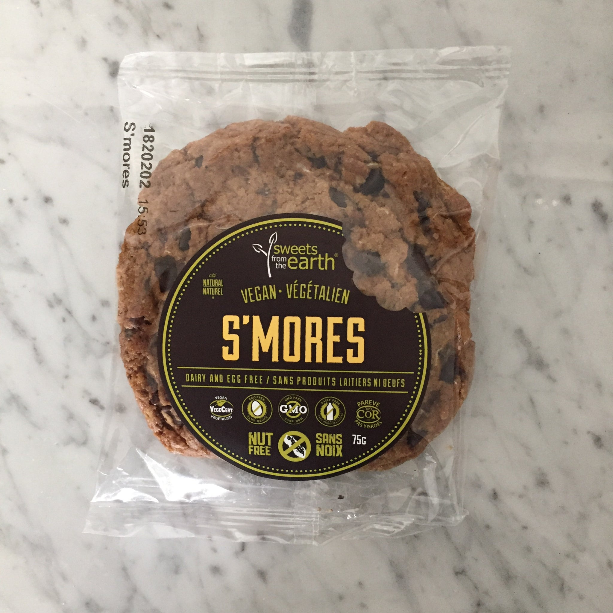 Sweets from the Earth S'mores Cookie (Vegan)