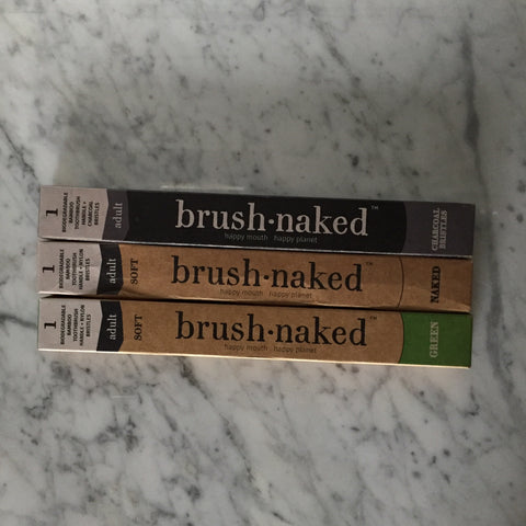 Brush Naked Biodegradable Bamboo Toothbrush
