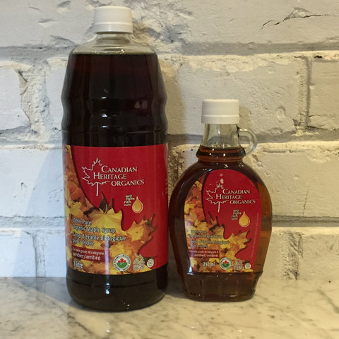 Canadian Heritage Organics Maple Syrup