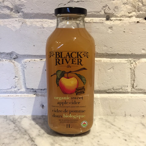 Black River Organic Sweet Apple Cider