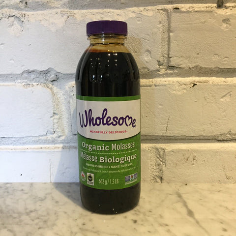 Wholesome Organic Blackstrap Molasses