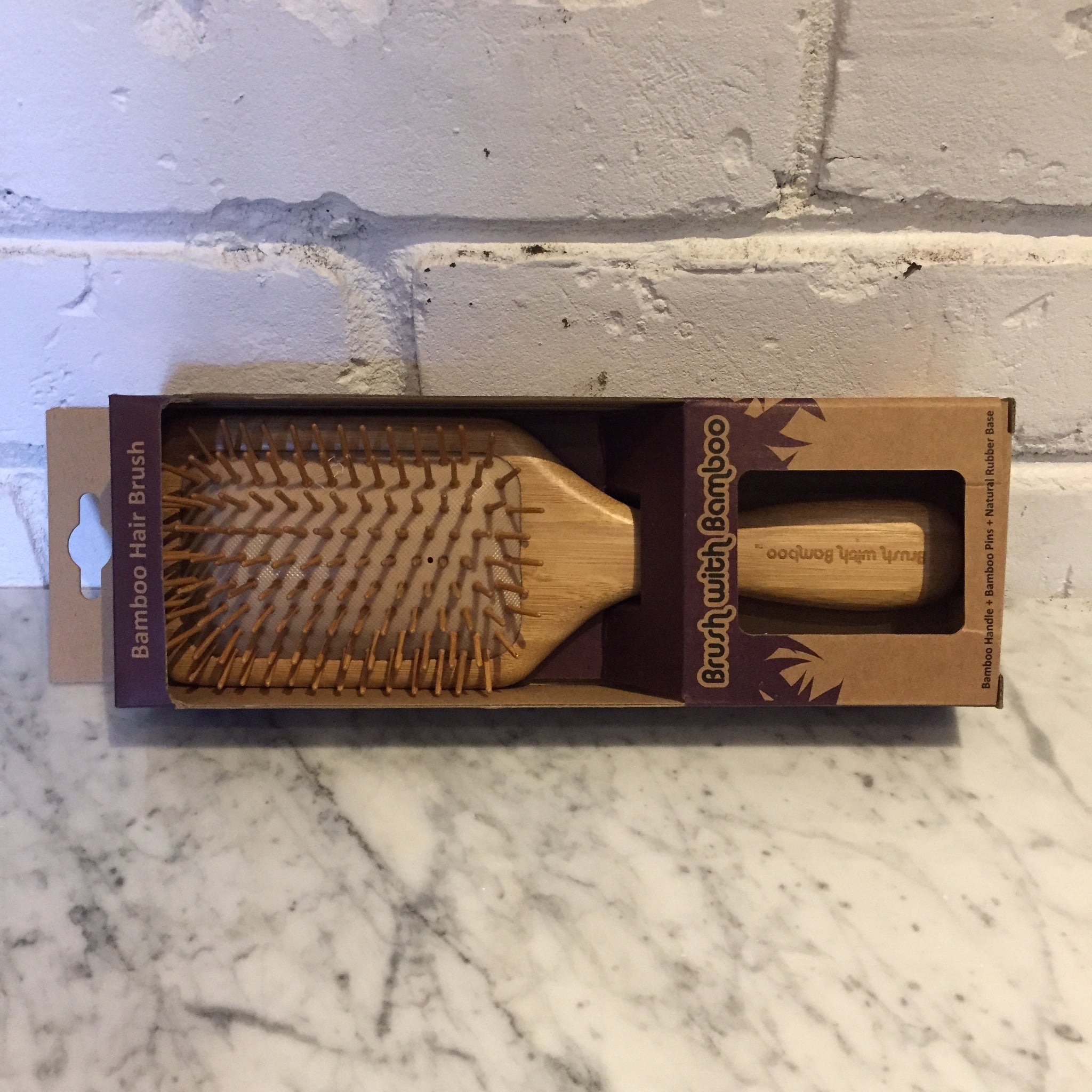 Brush with Bamboo Hair Brush