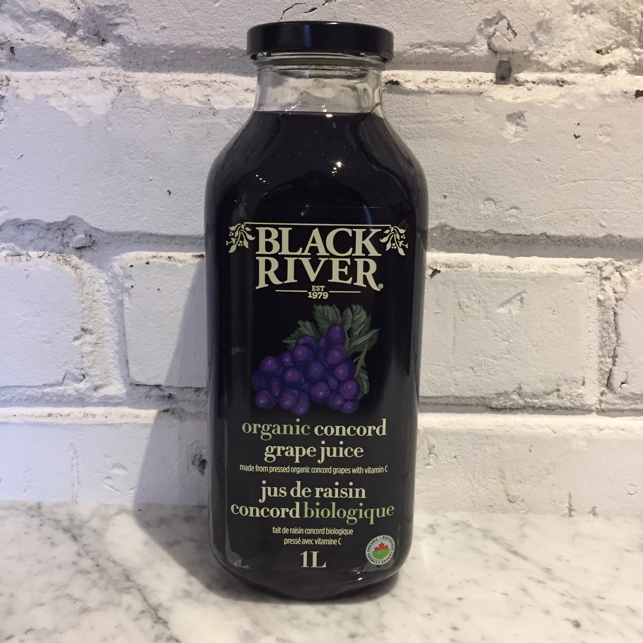 Black River Organic Concord Grape Juice