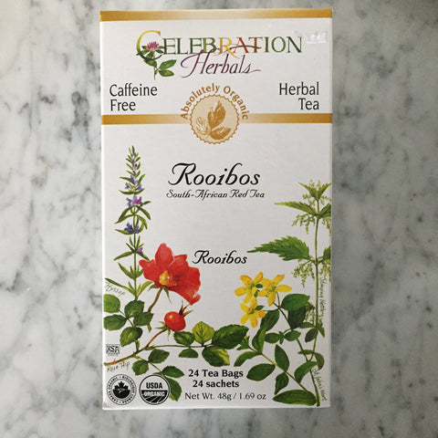 Celebration Herbals Rooibos Tea (Red Tea)