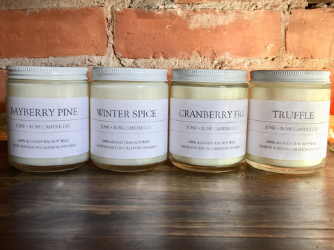 June + Rose Seasonal Candles