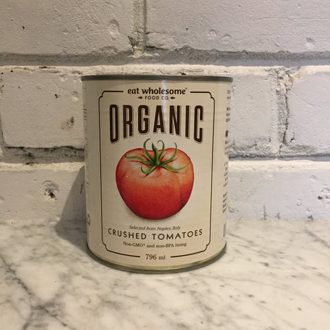 Eat Wholesome Organic Crushed Tomatoes