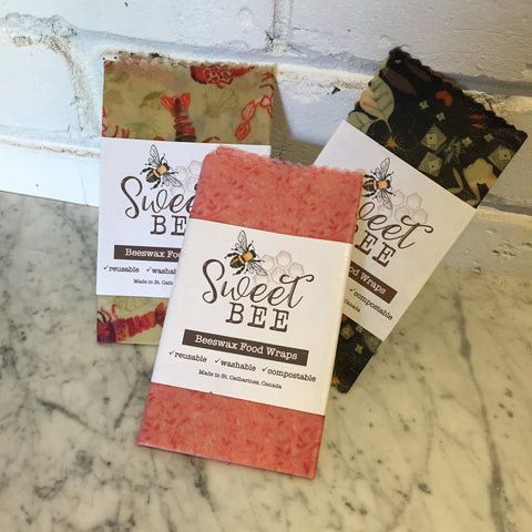 Sweet Bee Beeswax Food Wraps