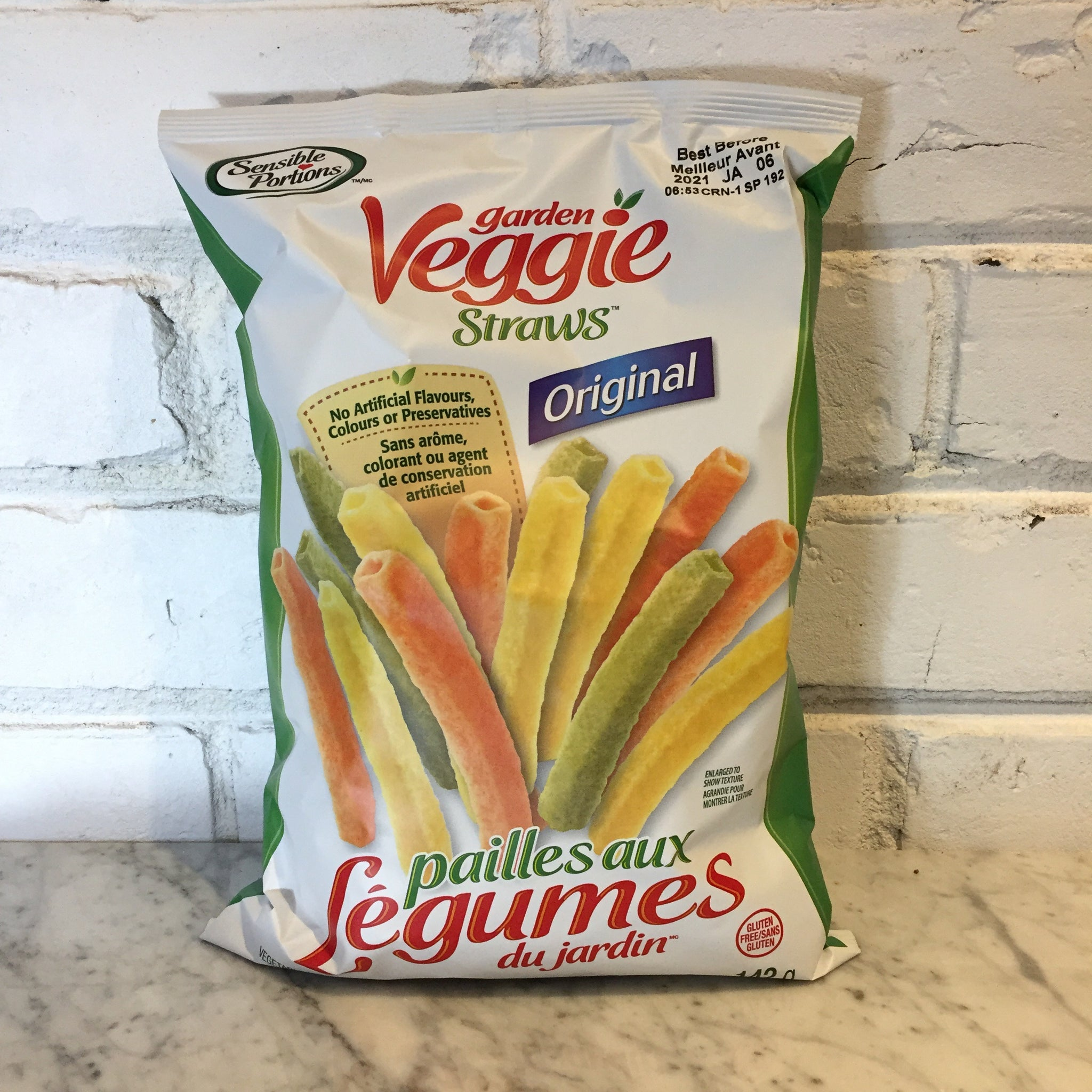 Sensible Portions Veggie Straws