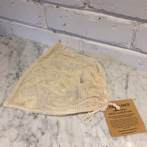 Cheeks Ahoy Mesh Laundry Bag