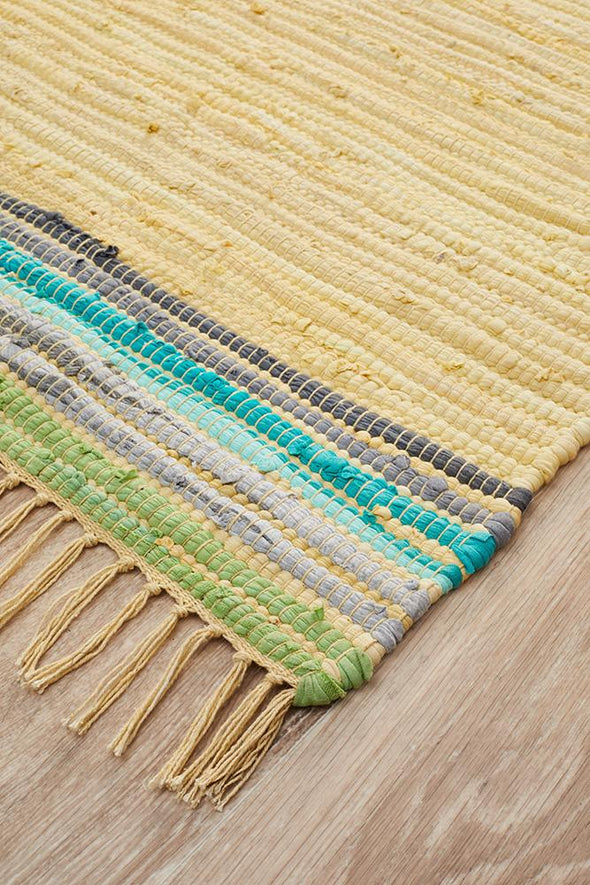 Atrium Boho Whimsical Rug yellow