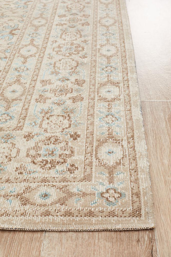 Eternal Whisper Washed Bone Rug