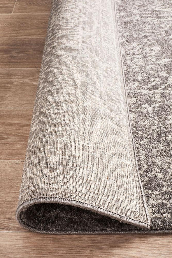 Evoke Homage Grey Transitional Rug
