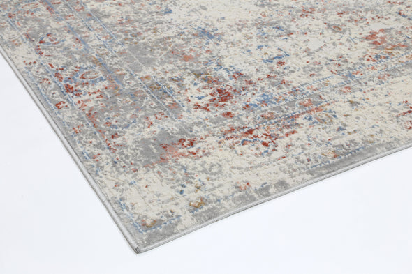 Expressions Multi Grey Contemporary Rug