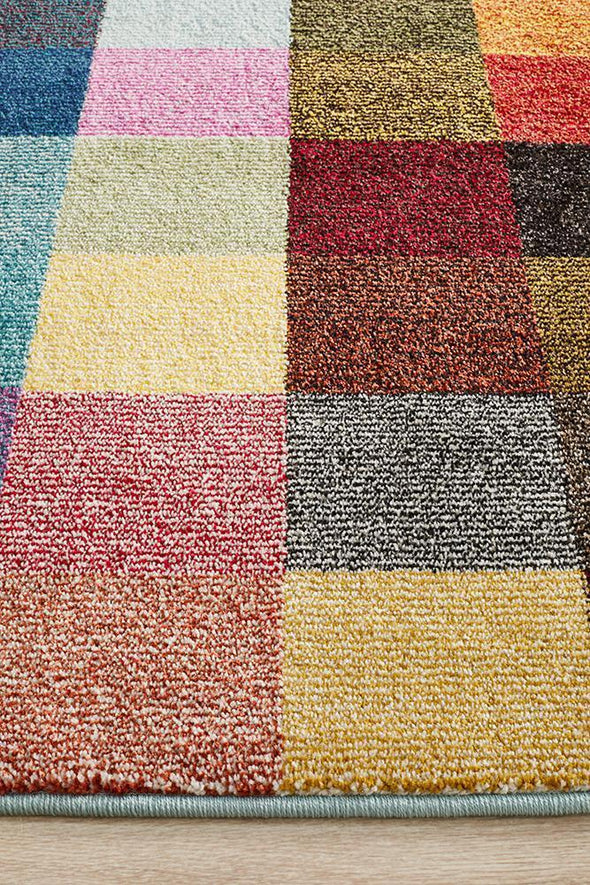 Gemini Modern 511 Multi Coloured Rug
