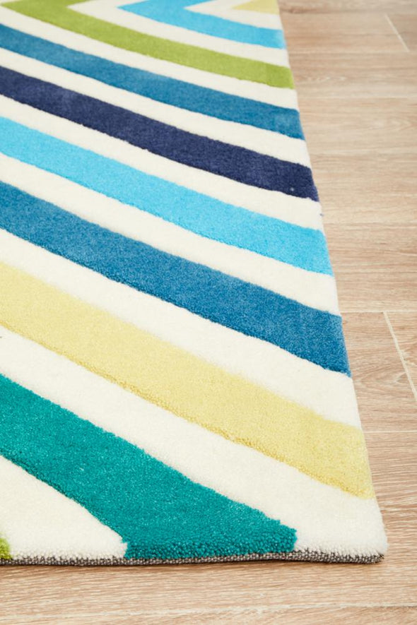 Gold Collection 640 Blue Rug