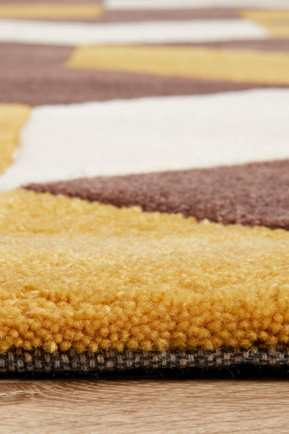 Gold Collection 647 Yellow Rug