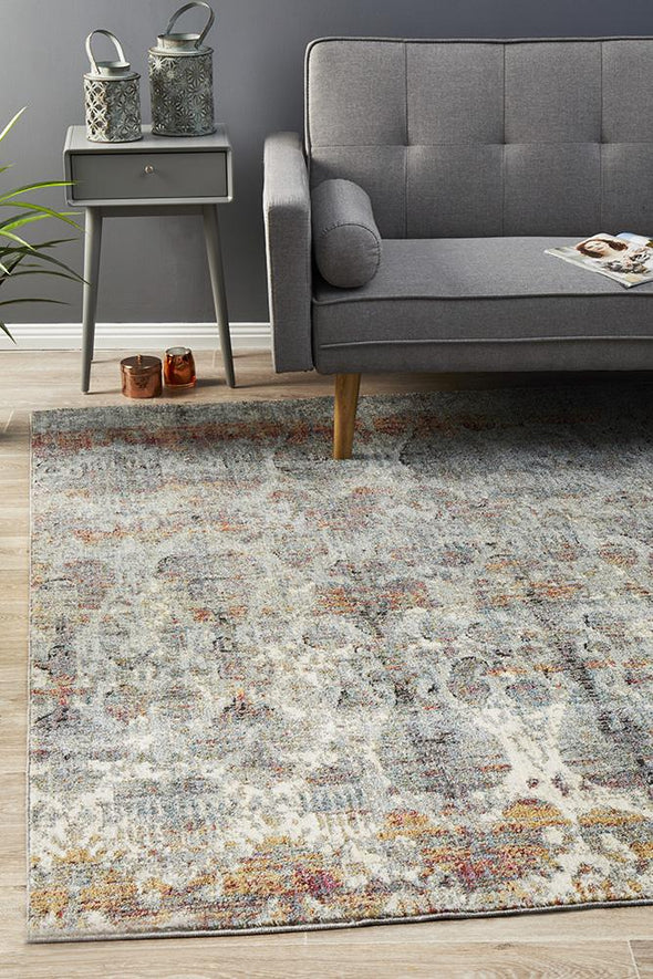 Jezebel Fluid Noon Modern Blue Rug