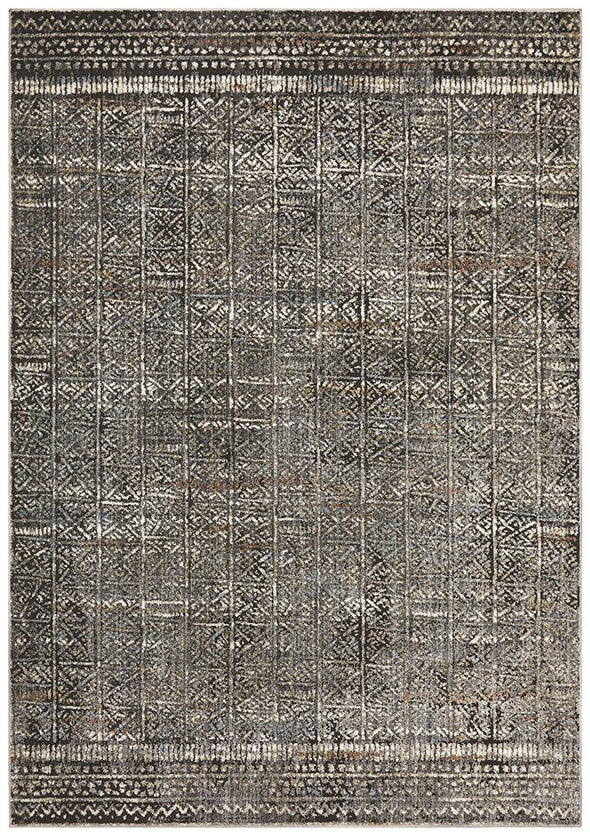 Jezebel Fluid Evening Modern Grey Rug