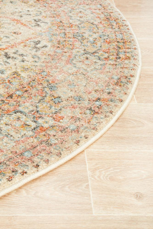 Legacy 861 Papyrus Round Rug