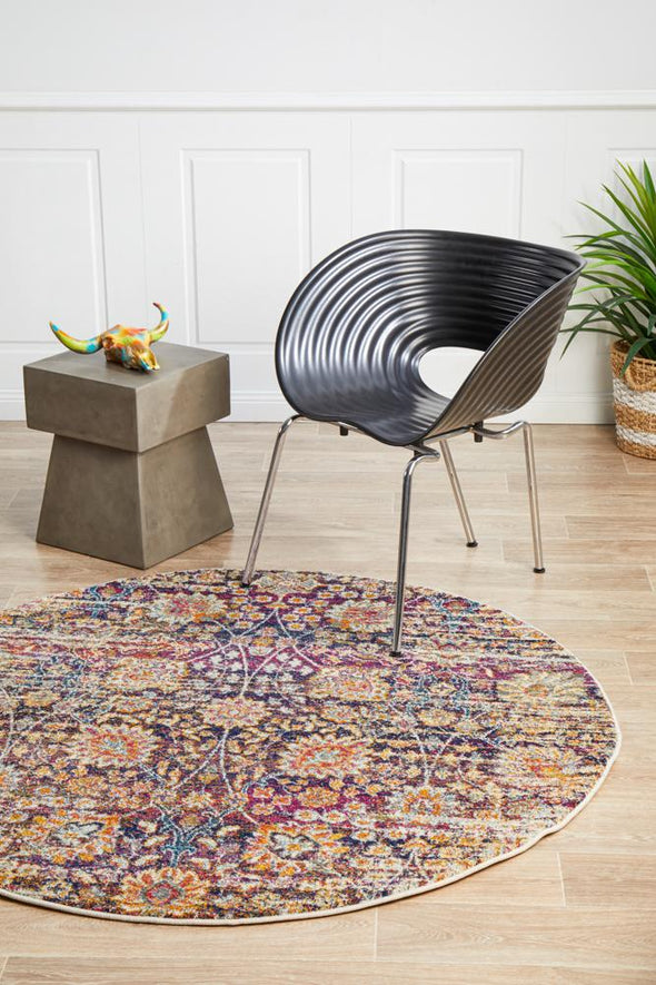 Mirage Zolan Transitional Multi Round Rug