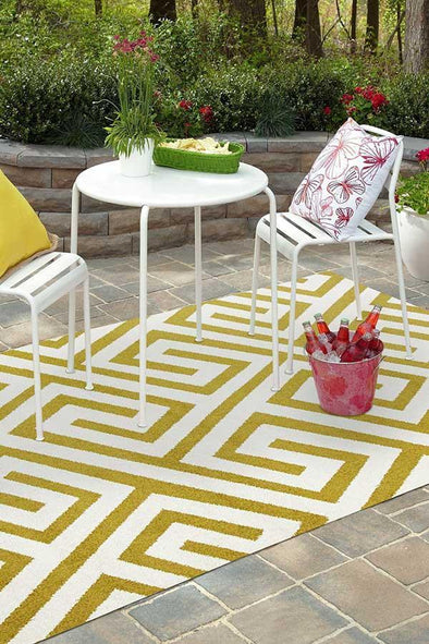 Marquee Indoor Outdoor 304 Citrus Rug