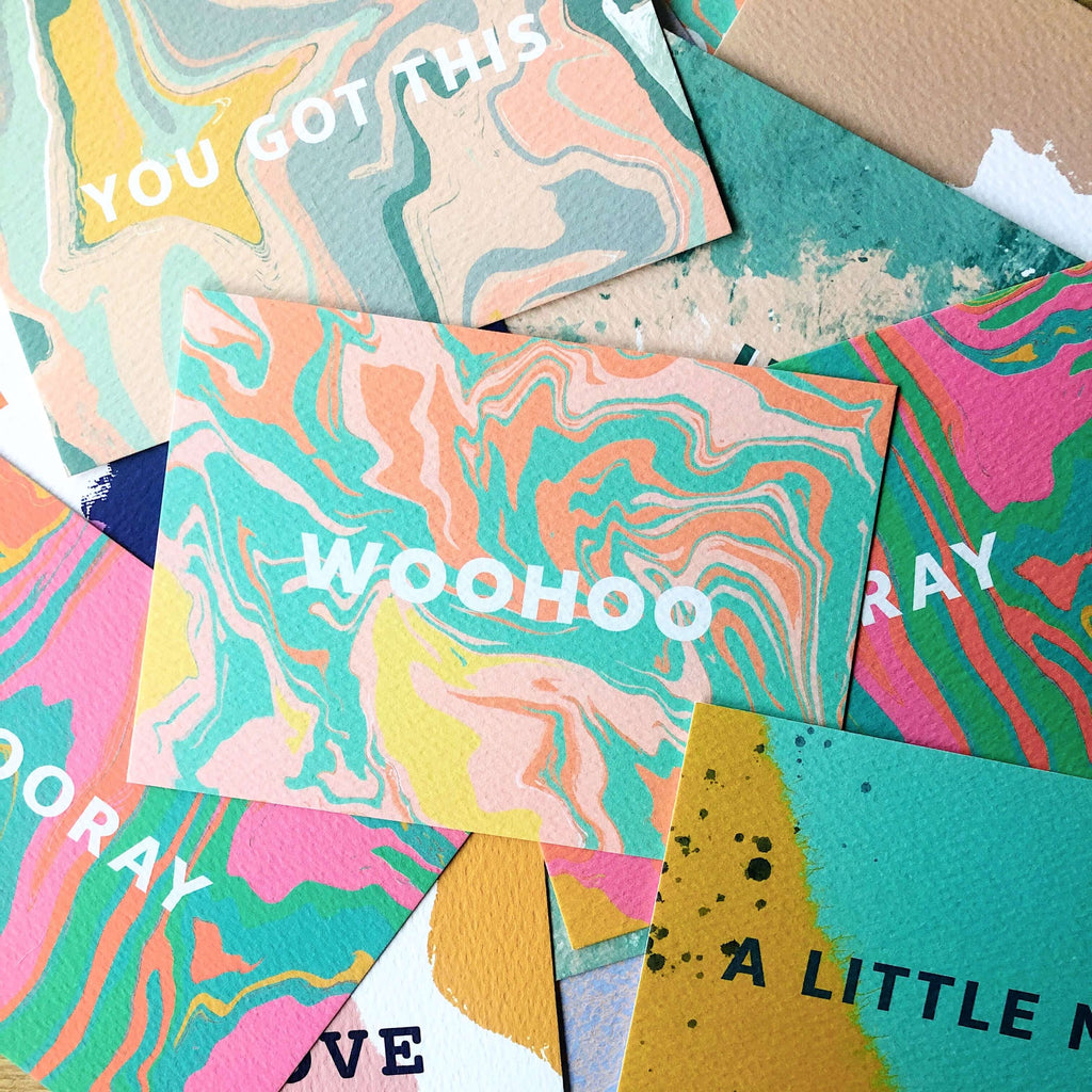 Colourful Postcards