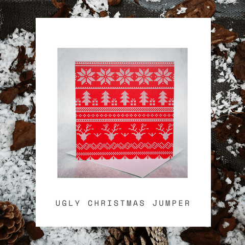 Ugly Christmas Jumper Card